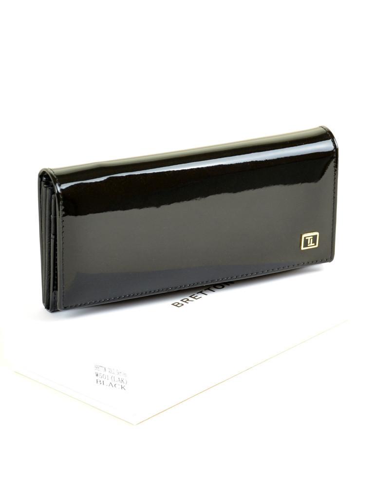 Кошелек GOLD кожа BRETTON W501 black Распродажа