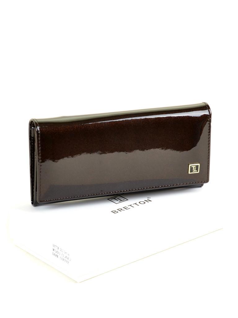 Кошелек GOLD кожа BRETTON W501 dark-coffee Распродажа