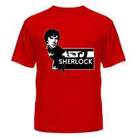 Річна яскрава футболка з малюнком Холмса недорого 100% бавовна