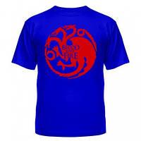 Стильная модная футболка для парней Blood and Fire, фото 1