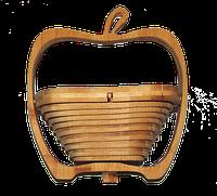 """Корзинка+подставка """"яблоко"""""""