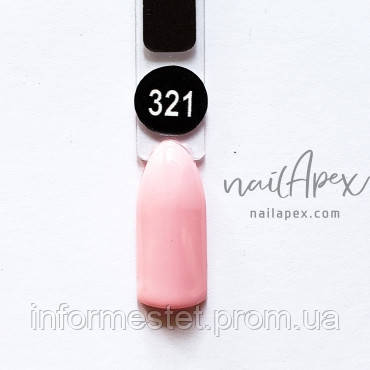 NailApex Gel Polish №321 гель-лак (6мл)