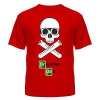 Молодіжна футболка У всі тяжкі з черепом