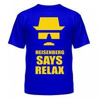 Футболка Heisenberg, футболки с нанесением Во все тяжкие, фото 1