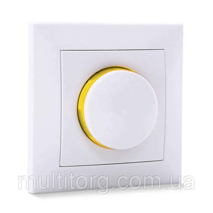 Светорегулятор SVEN SE-60038F проходной с подсветкой белый