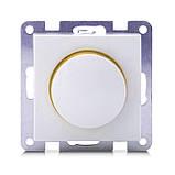 Светорегулятор SVEN SE-60038F проходной с подсветкой белый, фото 4