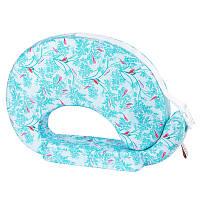 Наволочка на подушку для кормления FEEDING PILLOW «Птички на зеленом»