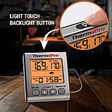 Термометр для м'яса ThermoPro TP-16S (-10°C до 300°C) з таймером, магнітом і підсвічуванням, фото 2