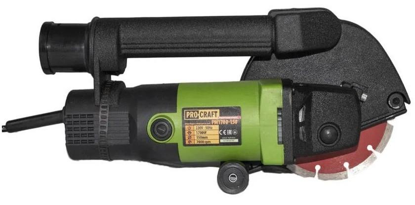 Штроборез Procraft PM 1700-150. Штроборез ПроКрафт