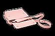 Шкіряна сумка крос-боді Cross жіноча рожева, фото 2