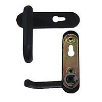 Ручка для противопожарной двери RZ 1919-9005, нейлон, 72 мм, черная