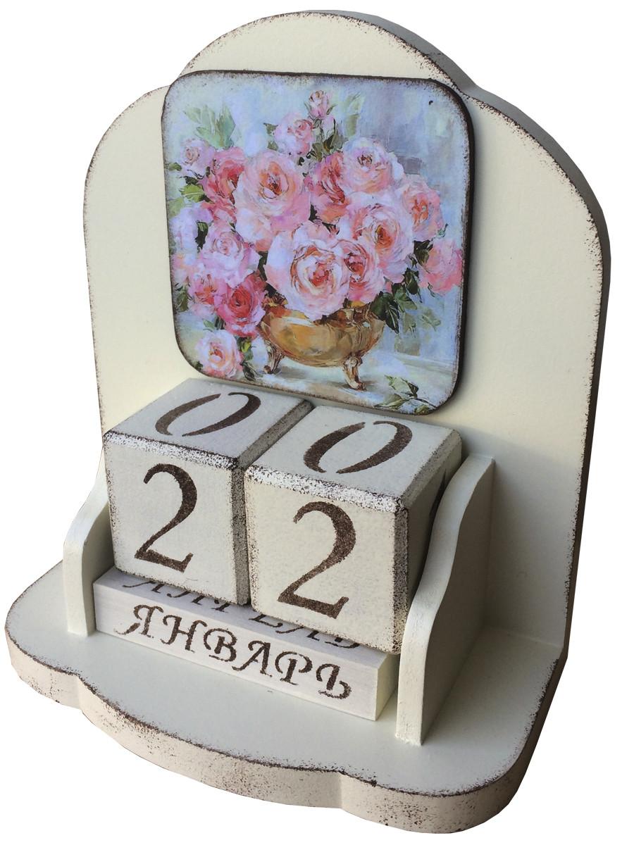 """Вечный календарь """"Букет"""", на русском языке"""