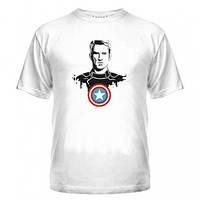 Футболка с Капитаном Америка