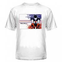 Футболка герой Капитан Америка