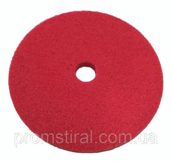 Вспененный абразивный круг Р120 150х10х22 красный