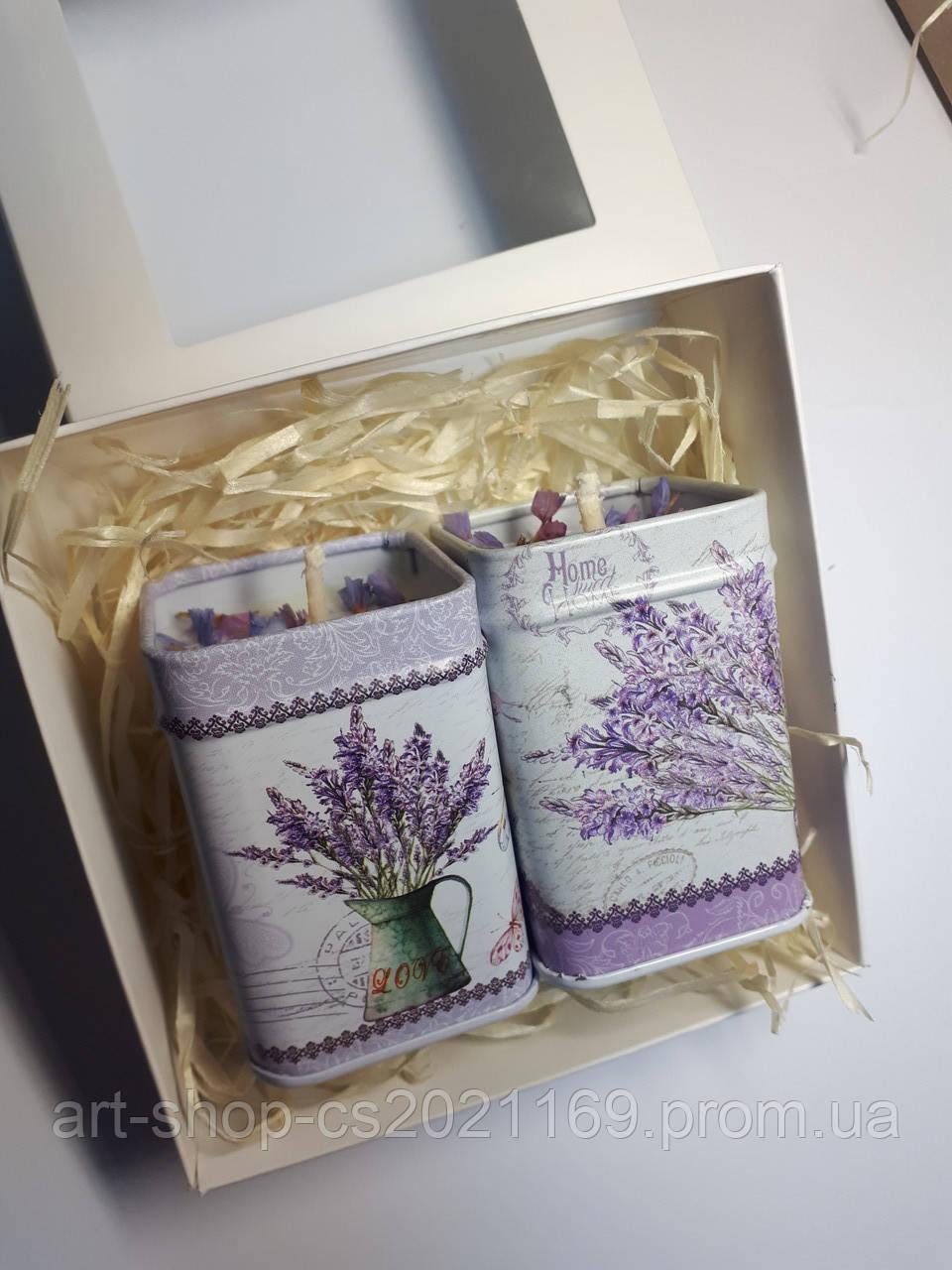 Подарочный набор натуральных свечей