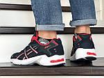 Мужские кроссовки Asics (темно-синие с белым), фото 3