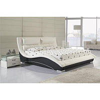Кожаная двуспальная кровать B220 (цвета в ассортименте) Sonata Mobel,Германия