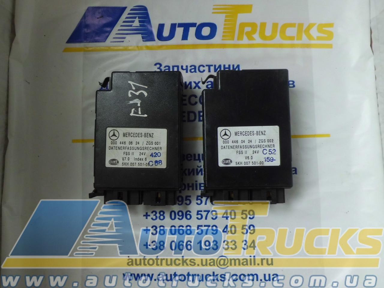 Блок управления ZGS001, ZGS002 Б/у для Mercedes-Benz (0004460624)