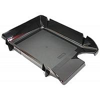 Лоток для бумаг горизонтальный Компакт черный 80603