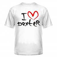 Футболка I love Dexter