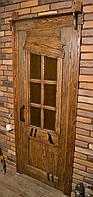 Двери межкомнатные деревянные со стеклом
