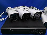 """Комплект для видео-наблюдения """"AHD Kit"""" (8 Камер + Ресивер)"""
