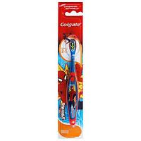 Зубная щетка классическая супермягкая Colgate Человек-паук для детей 2-5 лет