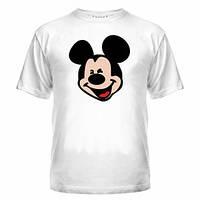 Стильная футболка мужская с Микки Маусом