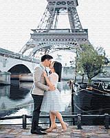 Картина по цифрам Свидание в Париже (BK-GX33017) 40 х 50 см (Без коробки)