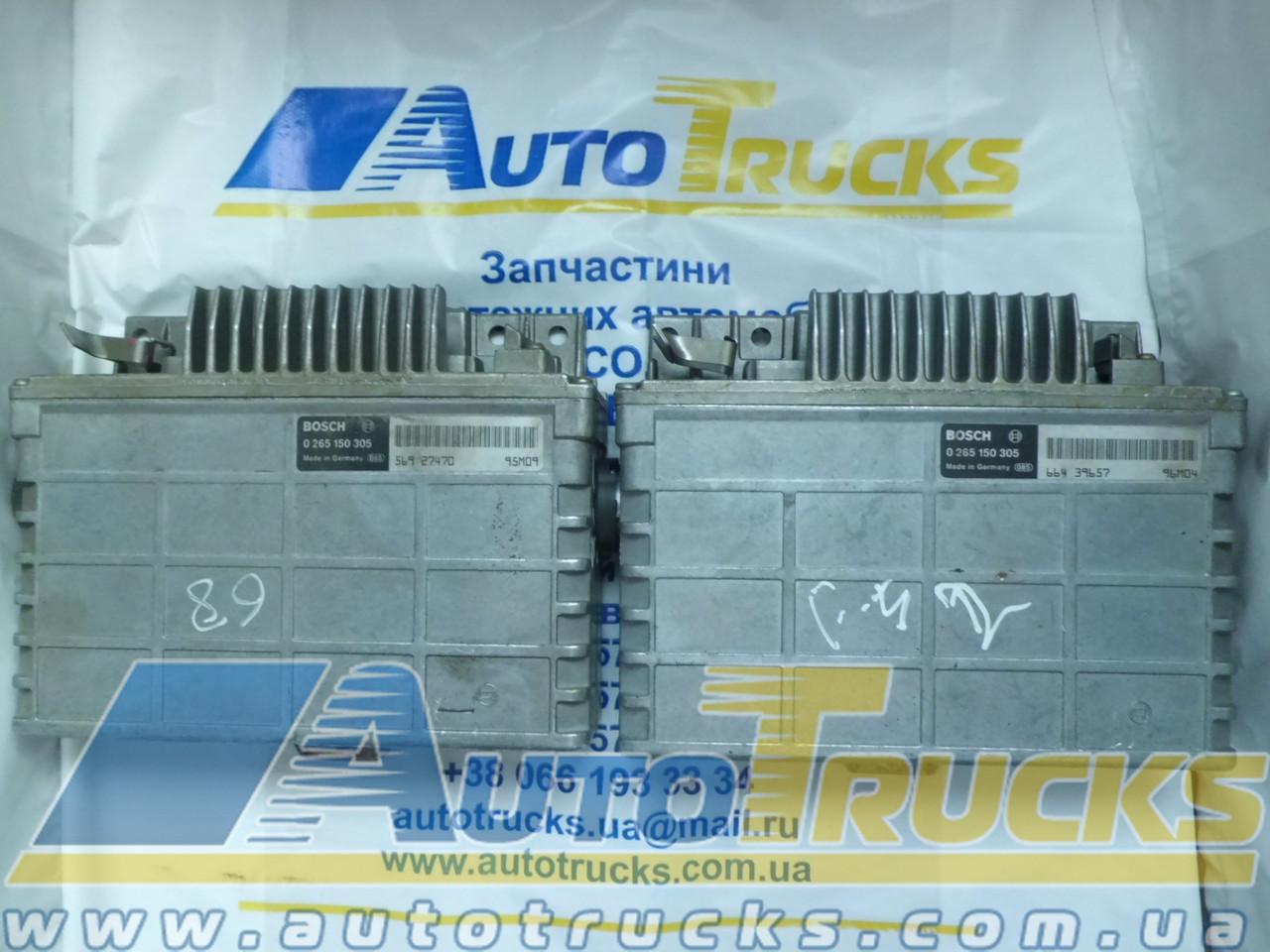 Блок управления автобуса ABS BOSCH 0265150305 Б/у для MAN (56427470; 66439657)