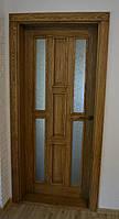 Двери межкомнатные со стеклом деревянные