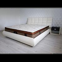 Кожаная двуспальная кровать B301 (цвета в ассортименте) Sonata Mobel,Германия