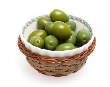 Оливки зеленые Helcom Oliwki zielone 900 g, фото 2