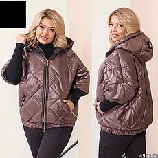 Женская демисезонная куртка размеры:50-60, фото 3