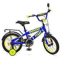 Детский двухколесный велосипед 14 дюймов Profi, фото 1