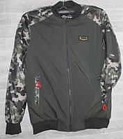 """Куртка-бомбер чоловіча демісезонна на синтепоні, розміри 48-56 (5кол) """"RETRO"""" недорого від прямого постачальника"""