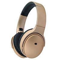Беспроводные Bluetooth наушники P-QC35  + ПОДАРОК: Наушники для Apple iPhone 5 -- БЕЛЫЕ MDR IP