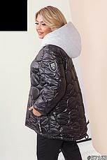 Куртка женская демисезонная легкая размеры: 46-60, фото 2