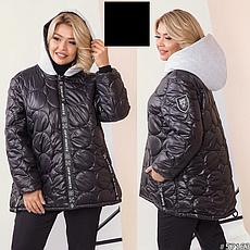 Куртка женская демисезонная легкая размеры: 46-60, фото 3
