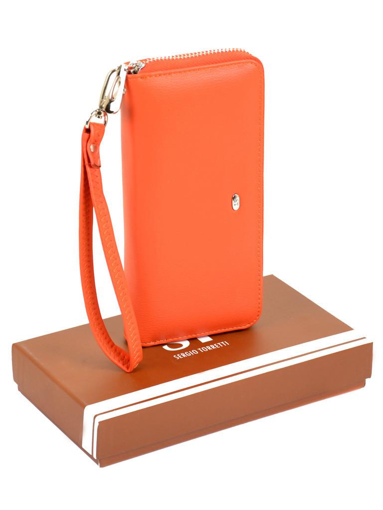 Гаманець ST Жіночий позов-шкіра  W38 orange
