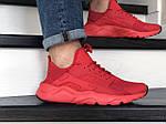 Мужские кроссовки Nike Air Huarache (красные), фото 2