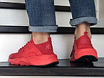 Мужские кроссовки Nike Air Huarache (красные), фото 3
