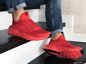 Мужские кроссовки Nike Air Huarache (красные)