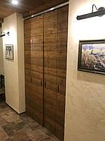 Двері дерев'яні міжкімнатні лофт розсувні