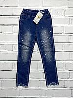 Стрейчевые джинсы для девочек. 4 года.