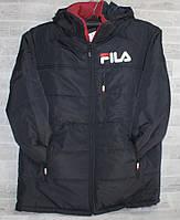 """Куртка мужская демисезонная FILS батальная, размеры 56-64 """"RETRO"""" недорого от прямого поставщика"""