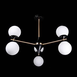 Люстра лофт на 6 лампочек P5-N3649/6/