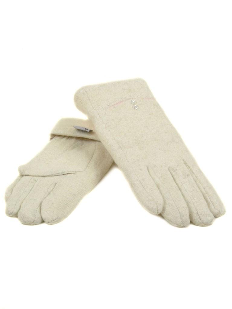 Перчатка Женская кашемир (ПЛ) F12/1 мод036 беж Распродажа