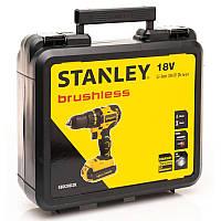 Дриль-шуруповерт акумуляторна безщіткова STANLEY SBD20D2K
